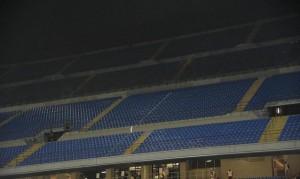 Stadio vuoto